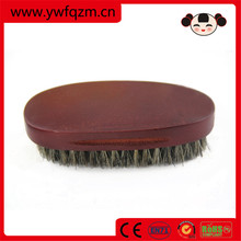 wholesale wooden 100% boar bristle hair beard brush