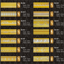 DESMOND PU Carved Panel Mouldings for ceiling and wall decoration