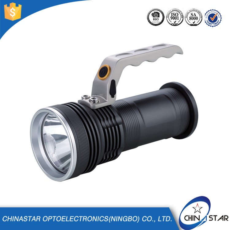 Passed SGS Perfect design zoom solar energy system flashlight