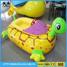 Popular!!!inflatable animal toy water boat for children