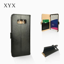Customized book design leather phone case cover for Samsung S8 2017