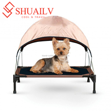 Dog Camp Bed Tent With Mattress Waterproof 600 D Oxford Winter Warm Comfortable Puppies Play House Pet Dog Tents