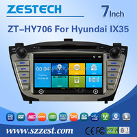 Factory Directly Sale Double Din Car Radio for Hyundai IX35 Navigation DVD