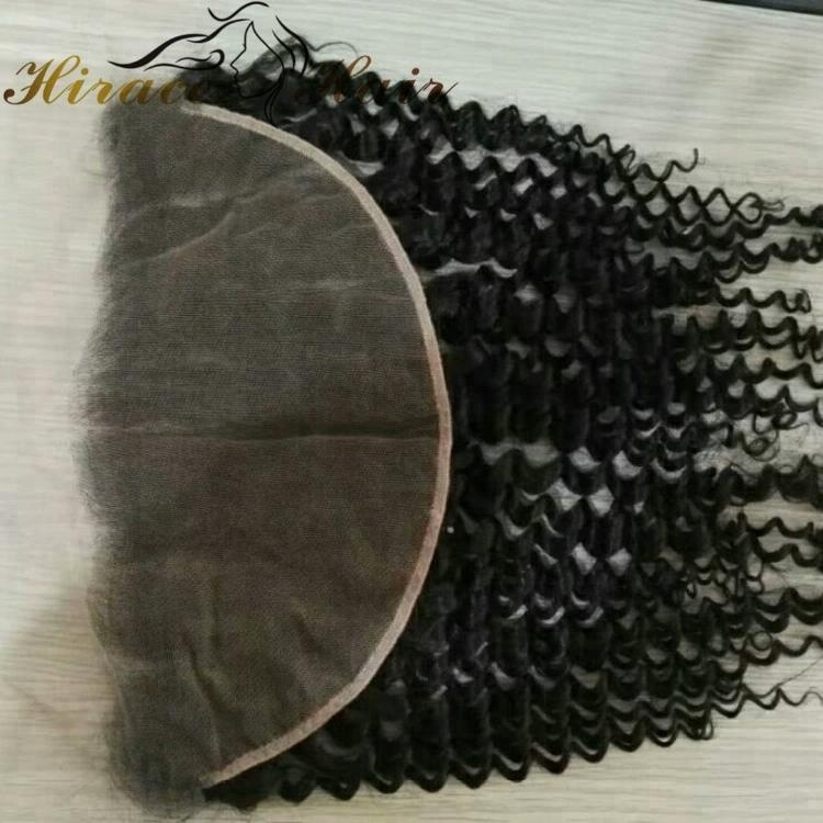 Unprocessed Virgin Brazilian Hair Curly 13x4 Lace Frontal Peruvian Hair 13x6 baby hair Frontal