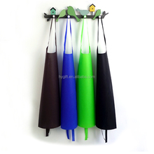 Custom size colorful disposable non-woven aprons for adults or kids