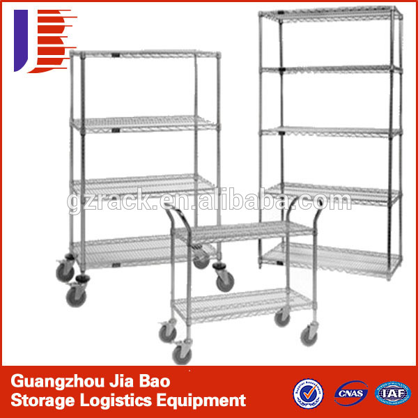 megazine&newspaper metal storage rack/wire mesh storage shelving/adjustable wire mesh metal rack