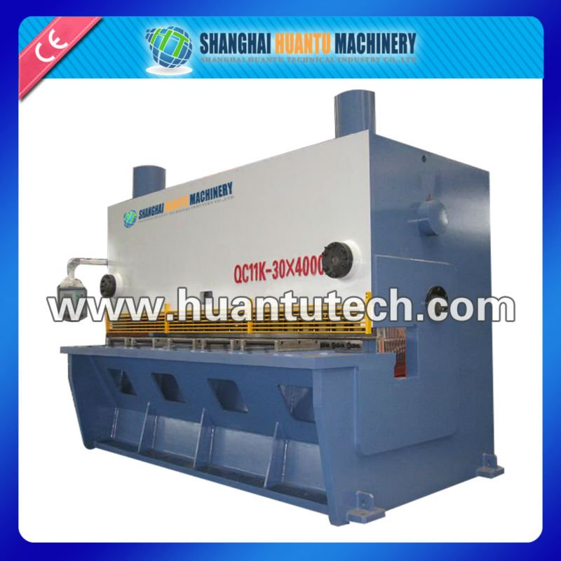 CNC Hydraulic guillotine machine tool manuals,metall sheet equipment,metal cutting guillotine