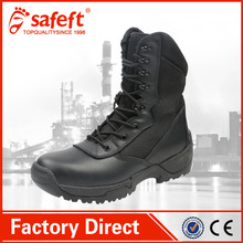Black Saudi Arabia high ankle qatar american style western Us Kenya Italian used canvas army men military shoes/boots