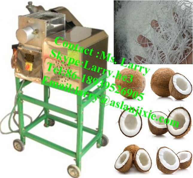 automatic coconut grating machine/coconut meat grinding machine/coconut grinding machine