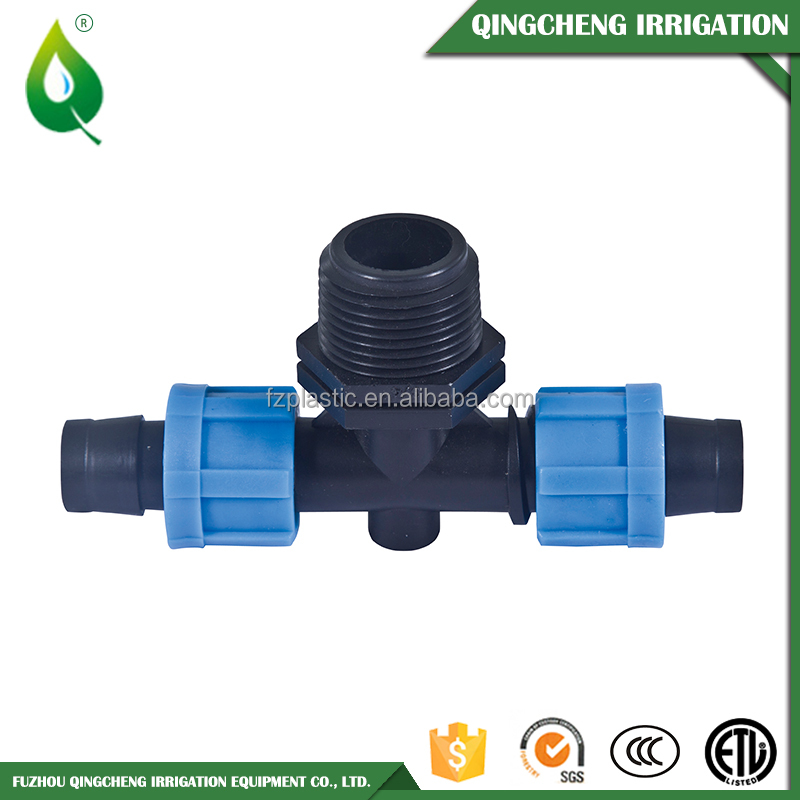 Male Threaded Plastic Elbow Tee Reducer Pipe Fitting