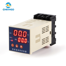 Intelligent accuracy digital thermostat temperature controller plastic temperature and humidity controller