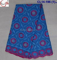 CL14-196 New fashion design swiss voile lace fabric ,african cotton lace for sale