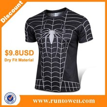 100% polyester dry fit custom t shirt printing, latest shirt designs for men, t-shirt printing