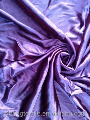 Elastic satin fabric/stretch satin fabric