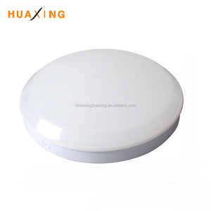 Round 15W/18W/22W color changeable and dimmable LED Ceiling Light, Available with Microwave Sensor and Emergency Option