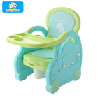 Portable multi-purpose baby potty high chair