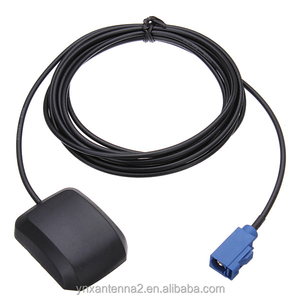 Auto Car GPS Fakra Connector Antenna Aerial Cable Signal Booster for Navigation