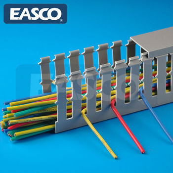 EASCO Restricted Open Slot Wiring Ducts Slotted Wall