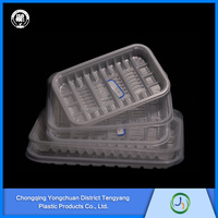 Made In China lucencyretain freshness plastic food tray