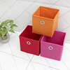 Fabric Storage Cube Canvas Collapsible Gift