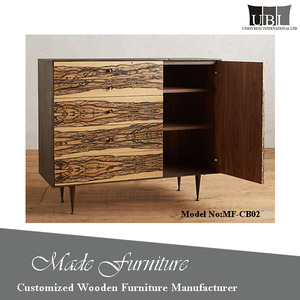 Retro soild wood living room cabinet design for sale