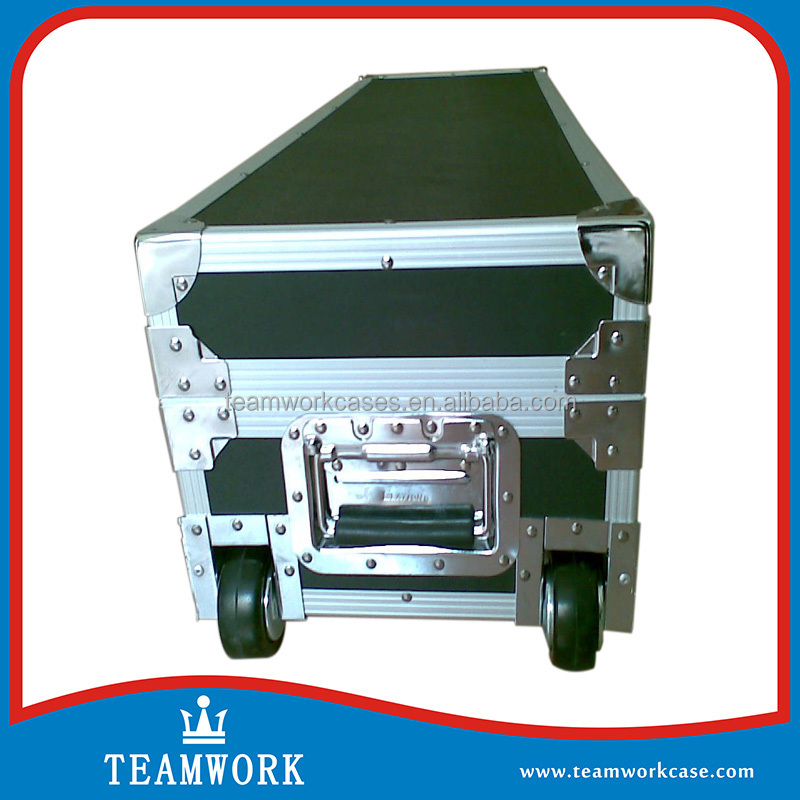 Hot sale Storeage Compartment Road Case with Wheels, Entertainment Equipment Flight Case