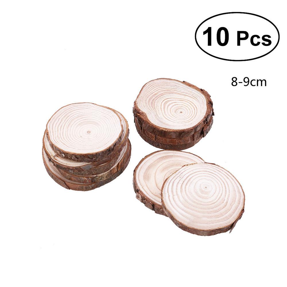 Wood Log Slices Discs For Wedding Decoration Supplies Diy Ornament ...