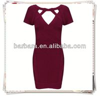 2013 Barbara clothing factory new style sexy bandage dress uk H370 hot selling!