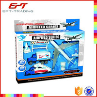Hot selling die cast toy metal airport toys for kids