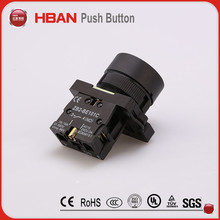 10mm low voltage push button switch