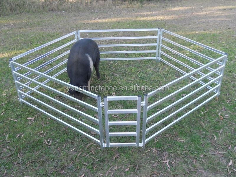 Wholesale Cheap Cattle Yards Panels For Live Sheep Cattle Goats ...