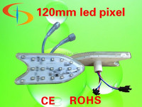120 wheel cap 18pcs SMD5050 led Amusement lamp ADS-ICR1218