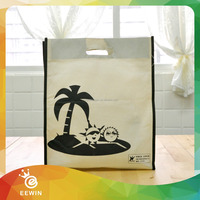 School Customized Full Color Wholesale Recycling 100g Non woven Bag