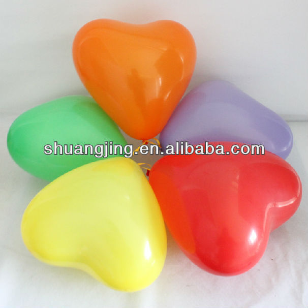 inflatable heart shape balloon for girls bithday party