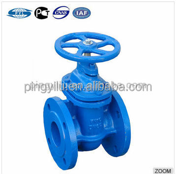 AWWA C509 Non Rising Stem Resilient Seated Gate Valve