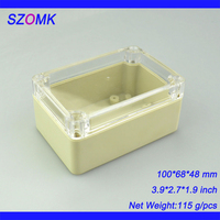 100*68*48 mm ip65 plastic enclosure waterproof box case for watercraft and coastal industries