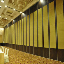 Aluminum Acoustic Soundproof Movable Wall Partition Composite Panel For Meeting Room Divider