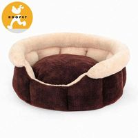 Luxurious style outside plush dog bed