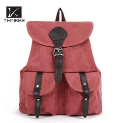 Hot New Design High Quality bag Fashion Student canvas Backpack