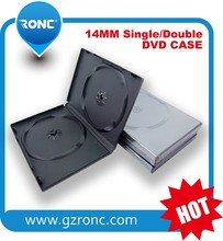 China factory Wholesale Black 14mm DVD Case (Holds 2 disc)