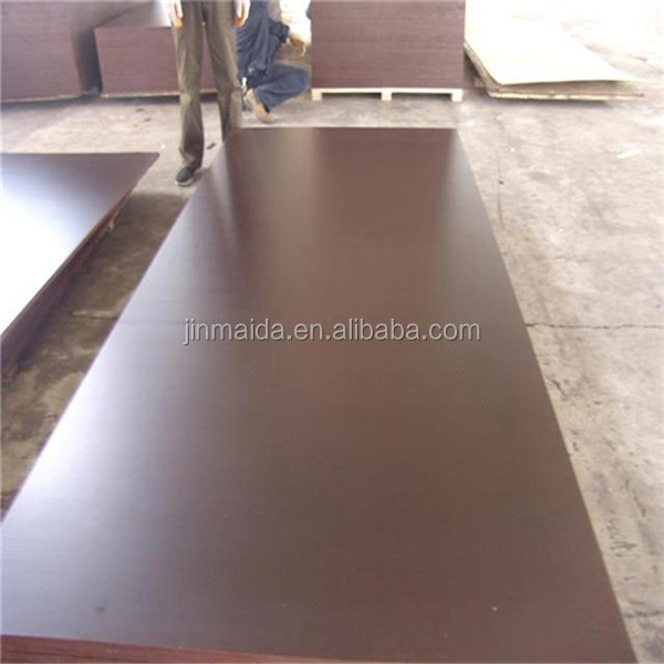 best price China supplier 15mm 17mm black phenolic glue film faced plywood