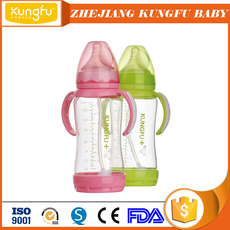 Medical-grade glass nice baby feeding bottle