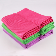 Wholesale wiping cloth microfiber glass cleaning towel