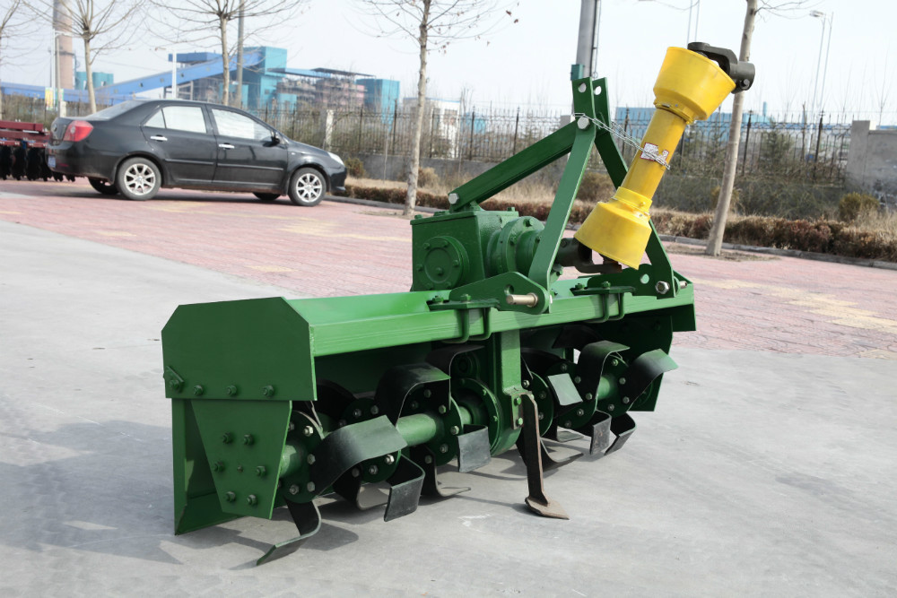 rotary tiller with side gear transmission rotavator for cultivating