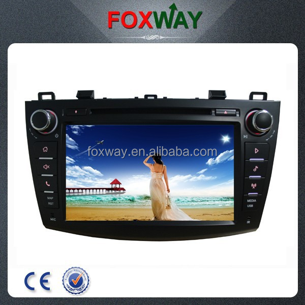Wholesale car audio with car dvd gps navigation system for MAZDA Axela.MAZDA 3