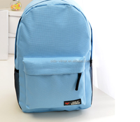 Custom canvas backpack trolley child school bag teens school trolley bags