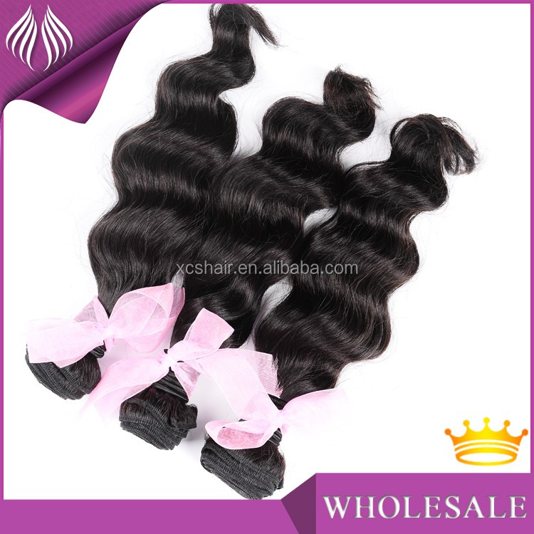 New style stock 8a grade 100% unprocessed virgin brazilian couture virgin hair weave color #27