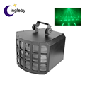 Stage lighting equipment three layer butterfly effect dj sound activated lighting led spot light