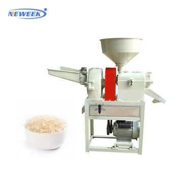NEWEEK roll diameter 80 mm grain mill polisher rice huller machine