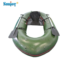 Inflatable single boat plastic small fishing boats PVC water Boat for fishing